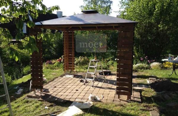 Gartenpavillon, Einzelanfertigung